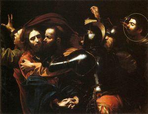 Michelangelo Merisi da Caravaggio, Cattura di Cristo, 1602, National Gallery of Ireland, Dublino