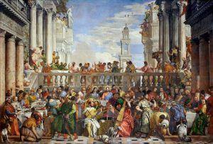 Paolo Veronese, Le nozze di Cana, Parigi, Louvre, 1563