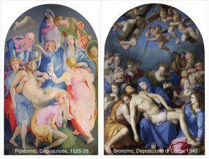 Pontormo, Bronzino, Deposizione - Public Domain via Wikipedia Commons