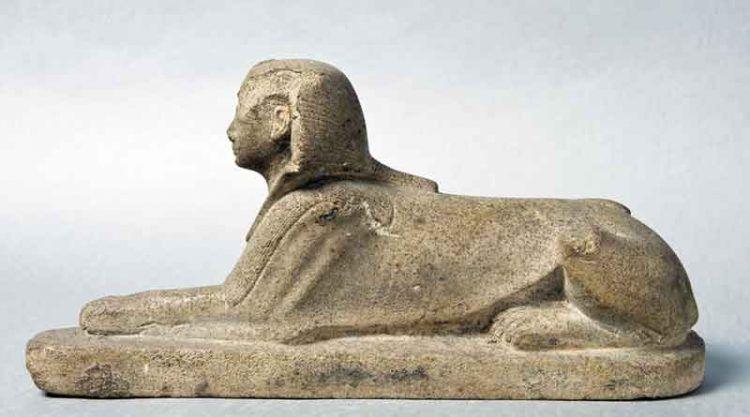 Statua di Amenofi II in forma di sfinge, dal Tempio di Karnak (© The Egyptian Museum, Il Cairo) [Nr archiv.: 68]
