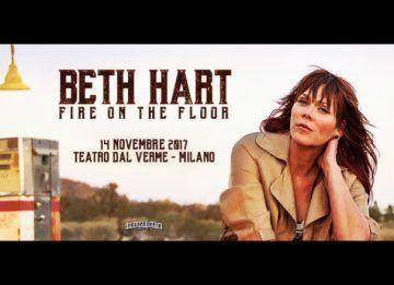 Beth Hart - Fire On The Floor - Teatro Dal Verme