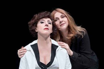 """Alessandra Faiella e Marina Massironi in """"Rosalyn"""" - Teatro Carcano - Foto © Marina Alessi"""