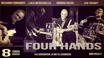 Four Hands - Zio Live Club Milano
