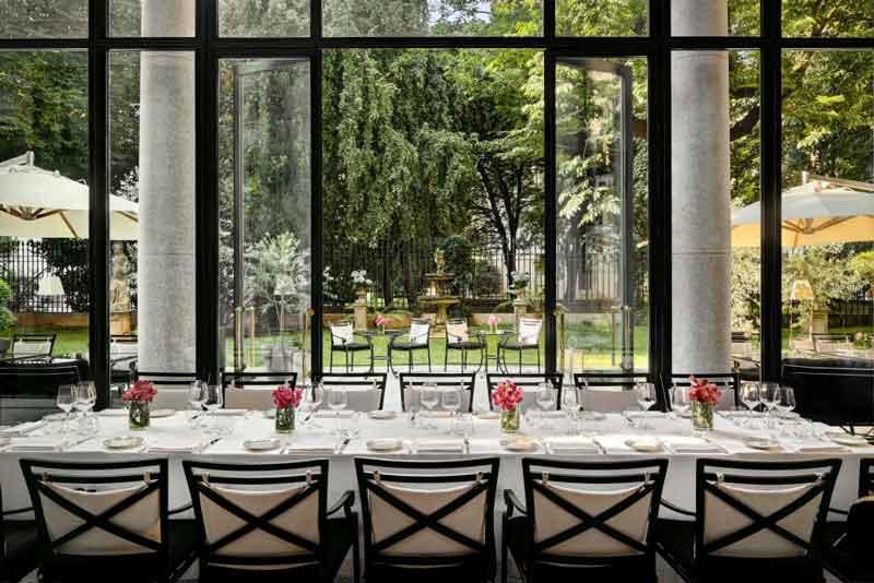Settimana gourmand con lo chef edoardo fumagalli a palazzo for Design hotel parigi