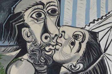 Pablo Picasso Il bacio, 1969 olio su tela, 97x130 cm Paris, Musée National Picasso - Credito fotografico: © RMN-Grand Palais (Musée national Picasso-Paris) /Jean-Gilles Berizzi/ dist. Alinari