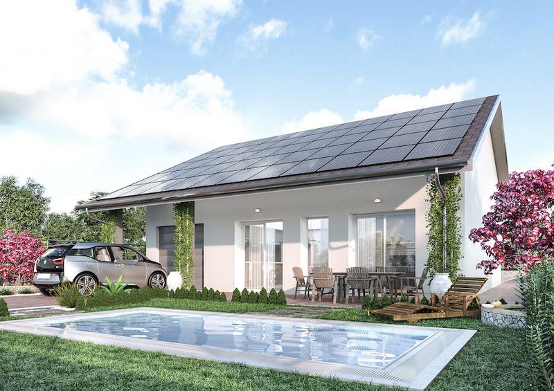 Ecolibera nell 39 hinterland milanese la casa che for La casa aperta del piano progetta una storia