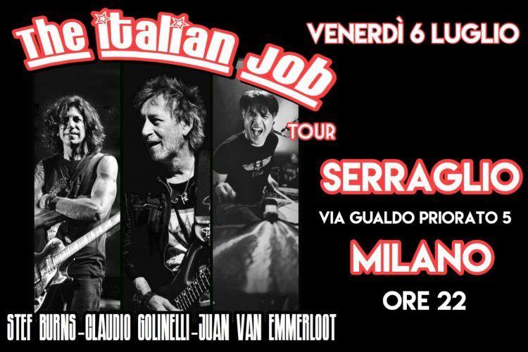 The Italian Job Tour - Associazione Serraglio