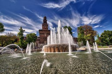 Castello Sforzesco (Image: CC0 Creative Commons, via Pixabay)