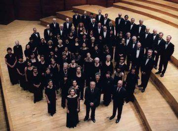 Gandolfi Romano e il Coro Sinfonico - foto Silvia Lelli