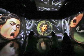 CARAVAGGIO OLTRE LA TELA - allestimento 6 Medusa