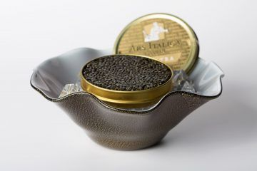 the perfect caviar serving