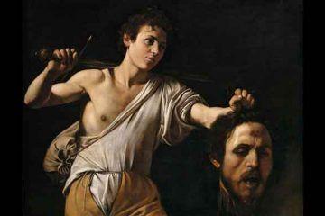 Caravaggio, Davide con la testa di Golia, Kunsthistorisches Museum, Vienna.