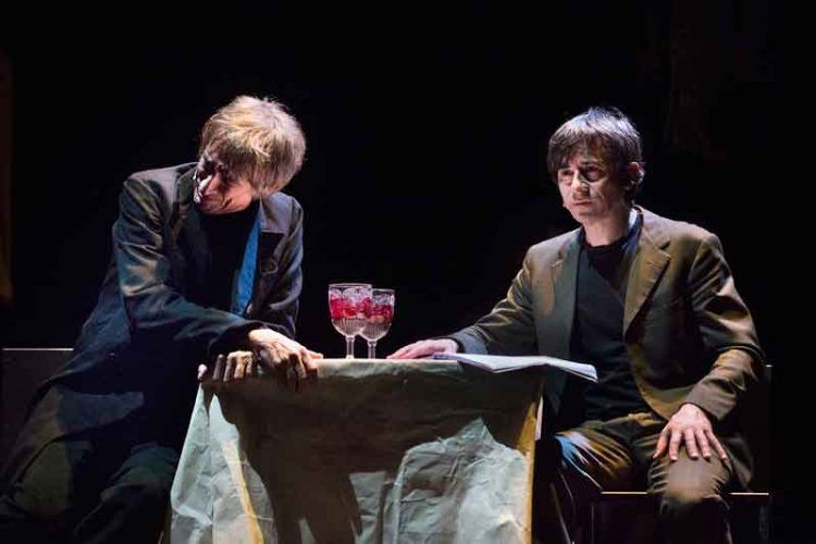 Delitto/Castigo - Sergio Rubini e Luigi Lo Cascio - Teatro Franco Parenti - foto di Serena Pea