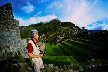 Fernando Astete a Machu Picchu - foto di José Bastante