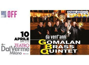 Gomalan Brass Quartet - Teatro Dal Verme
