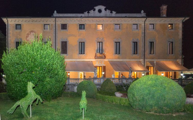 Villa Porro Pirelli_esterno_notte_