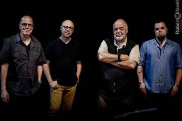 Peter Erskine & Dr. Um Band live al Blue Note - photo by Roberto Cifarelli