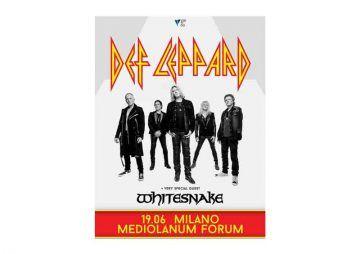 Def Leppard + Whitesnake - Mediolanum Forum Assago