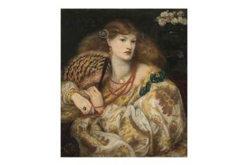 Dante Gabriel Rossetti (1828-1882) Monna Vanna, 1866; olio su tela, cm 88,9 x 86,4 - Tate: Purchased with assistance from Sir Arthur Du Cros Bt and Sir Otto Beit KCMG through the Art Fund 1916 ©Tate, London 2019