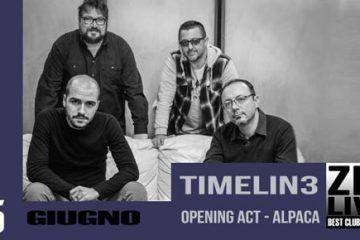 I TIMELIN3 allo Zio Live Club di Milano