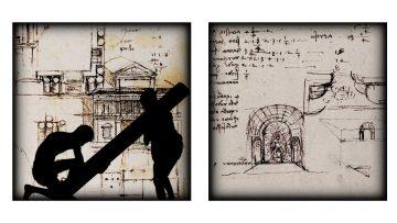 Studio Azzurro Leonardo, La città, Artifizio Frame da video, 2019
