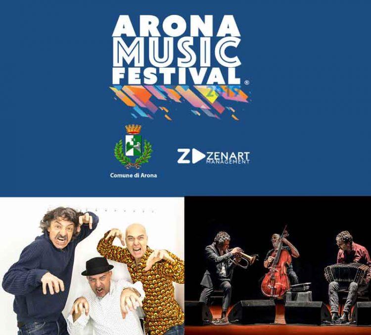 Il Trio Bobo e Paolo Fresu chiudono l'Arona Music Festival