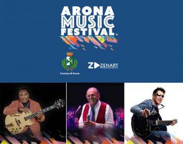 L'edizione 2019 dell'Arona Music Festival prende il viua con tre stelle della musica: George Benson, Renzo Arbore ed Edoardo Bennato