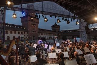 L'Orchestra Verdi al Castello Sforzesco - foto Studio Hanninen