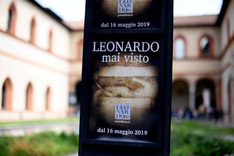 Leonardo mai visto - Castello Sforzesco