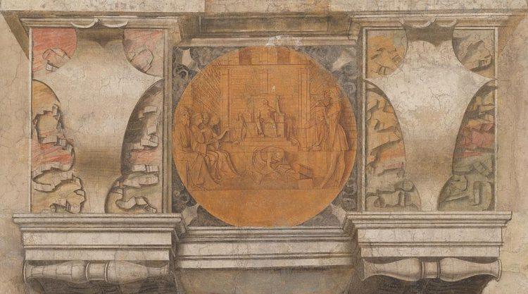 """""""Argo"""" (affresco), Sala del Tesoro, Castello Sfrzesco"""