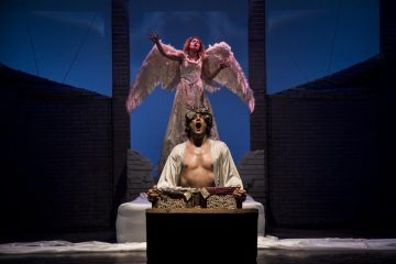 """""""Angels in America"""" al Teatro Elfo Puccini - photo by Laila Pozzo"""