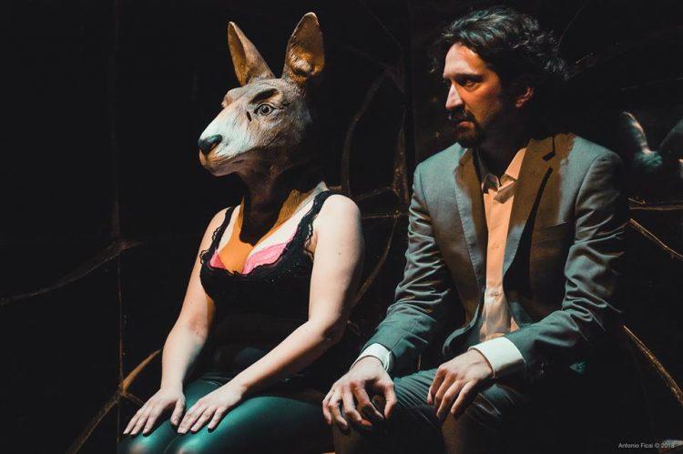"""""""Schianto"""" della compagnia Oyes al Teatro Franco Parenti - © Antonio Ficai"""