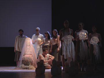 La compagnia Anagoor porta in scena l'Orestea di Eschilo al Piccolo Teatro Strehler - photo by Giulio Favotto