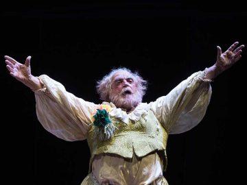 Falstaff e il suo servo - Piccolo Teatro Strehler - photo by Tommaso Le Pera