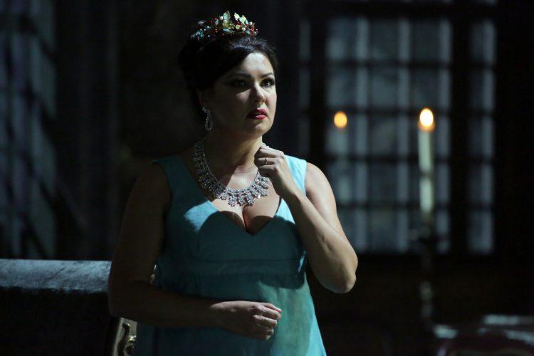 """Anna Netrebko in """"Tosca"""" al Teatro alla Scala - photo Brescia Amisano"""