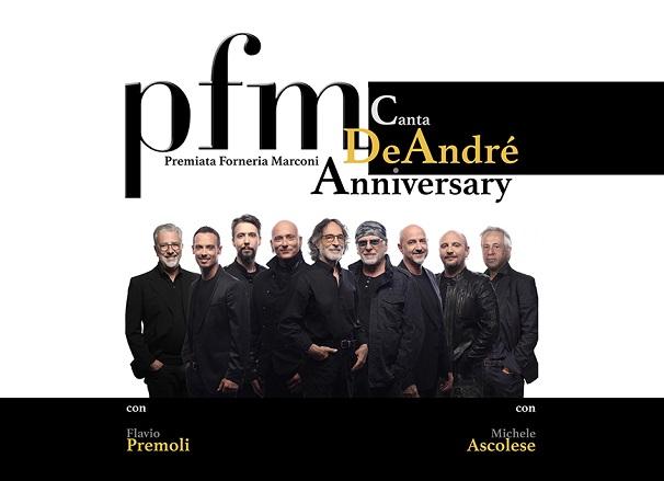 PFM canta De André - Anniversary - Teatro degli Arcimboldi
