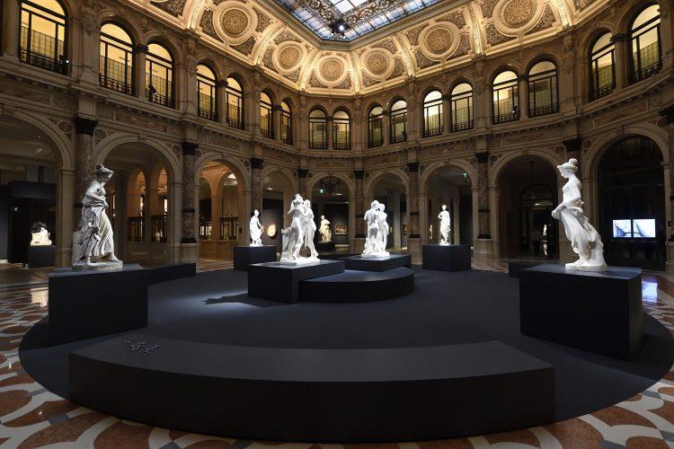 Gallerie d'Italia, veduta d'insieme nel salone centrale - foto Flavio Lo Scalzo