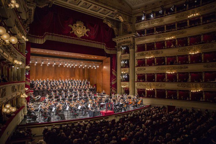 Orchestra del Teatro alla Scala - photo Brescia Amisano