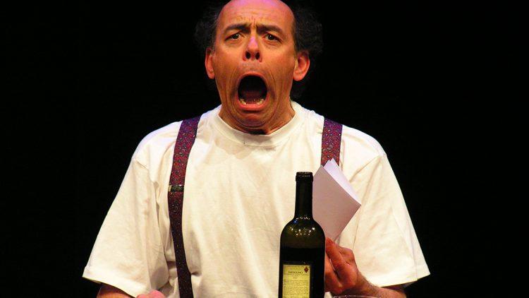 """Paolo Nucci in """"La lettera"""" al Teatro Filodrammatici di Milano"""