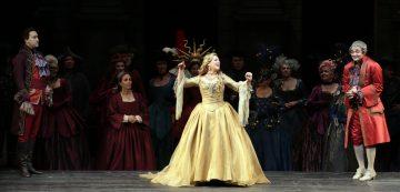 """Diana Damrau in """"Roméo et Juliette"""" al Teatro alla Scala - photo by Marco Brescia e Rudy Amisano"""
