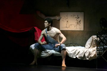 """Roberto Bolle in """"Le jeune homme et la mort"""" al Teatro alla Scala - ph Brescia e Amisano Teatro alla Scala"""
