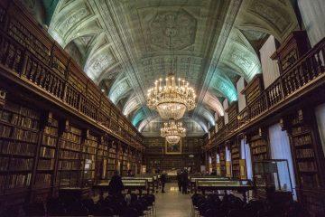 Biblioteca Nazionale Braidense sala Maria Teresa Ph. James O'Mara