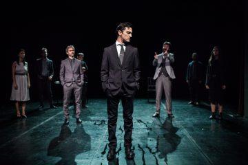 """La Compagnia Oyes con """"Io non sono un gabbiano"""" al Teatro Litta - foto Luca Meola"""