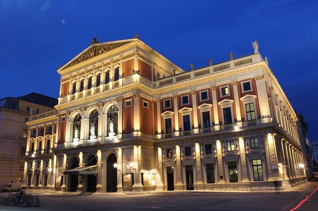 Il Musikverein dedica molti eventi musicali a Beethoven. [Image: CC0 Creative Commons via Pixabay]