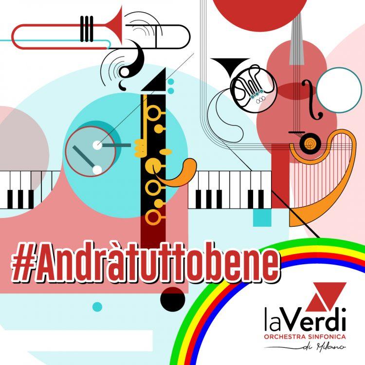 Dopo #Lamusicanonsiferma, laVerdi aderisce all'iniziativa #Andràtuttobene