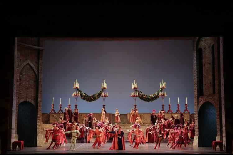 """Il balletto Romeo e Giulietta"""" di Prokof'ev al Teatro alla Scala - ph Brescia e Amisano"""
