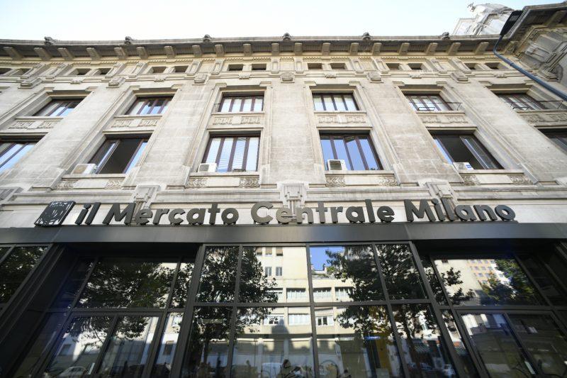 mercato centrale milano esterno